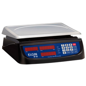 Balança Elgin Dp20 20kg/2g Com Bateria Recarregável Bivolt