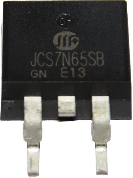 Transistor Jcs7n65sb - Jcs7n65 - Jcs7n - 7n65