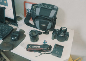 Canon T3i + Lente 18-55mm + Cartão 8gb + Frete Gratis