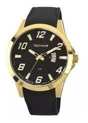 Relógio Technos Masculino Dourado 2115kqa8p