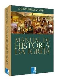Manual De Historia Da Igreja