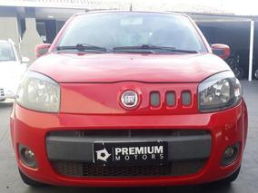 Fiat Uno Vivace 2012 Vermelho Flex