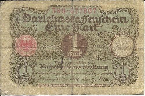 Imagen 1 de 2 de Alemania 1  Marco 1920