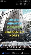 Alquiler De Andamio Tubular, Paso Peatonal