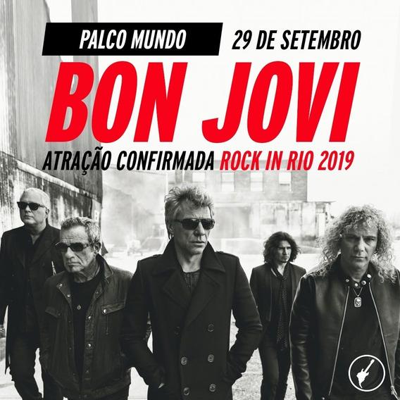 Bon Jovi - Dvd Rock In Rio 2019 - Hd Original + Cd Brinde