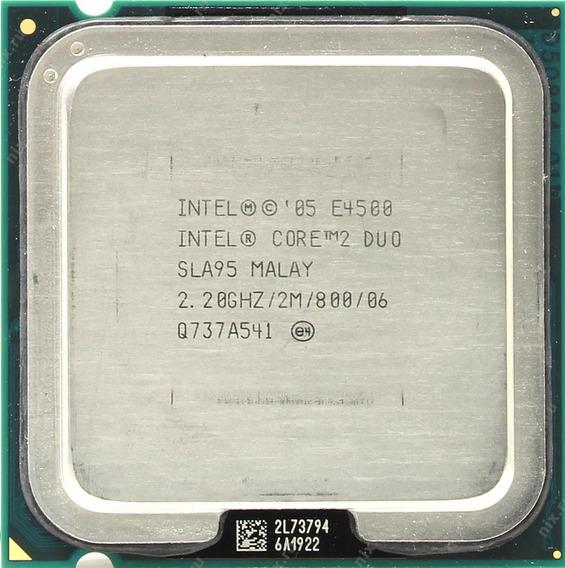 Processador Core 2 Duo E4500 2.2ghz Lga 775 2m 800mhz
