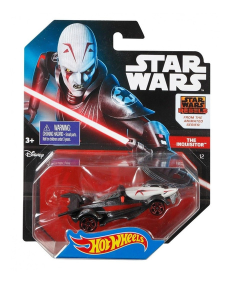 Carro Juguete Hot Wheels Star Wars The Inquisitor Mattel