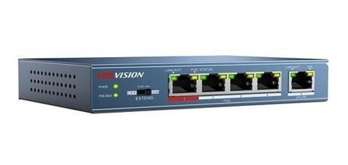 Switch Hikvision 4 Port Poe 100mbps 1ethe 3e0105p-e Martinez