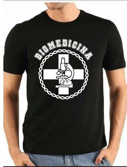 Camiseta Curso Biomedicina