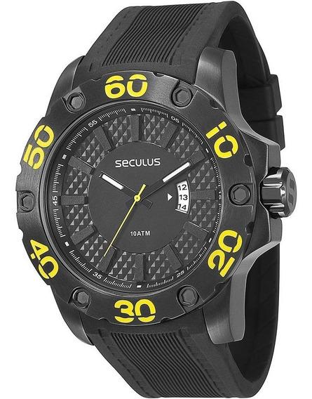 Relógio Seculus Analógico 100m 28390gpsbpu1 (viva,invicta)