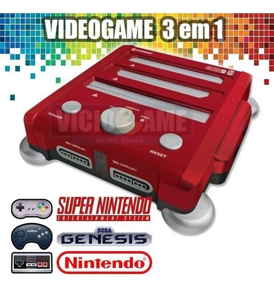 Retron 3 (super Nes, Mega Drive E Nes) Novo À Pronta Entrega
