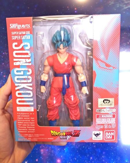 Goku Super Saiyan God Blue Saiyajin Azul Sh Figuarts Bandai
