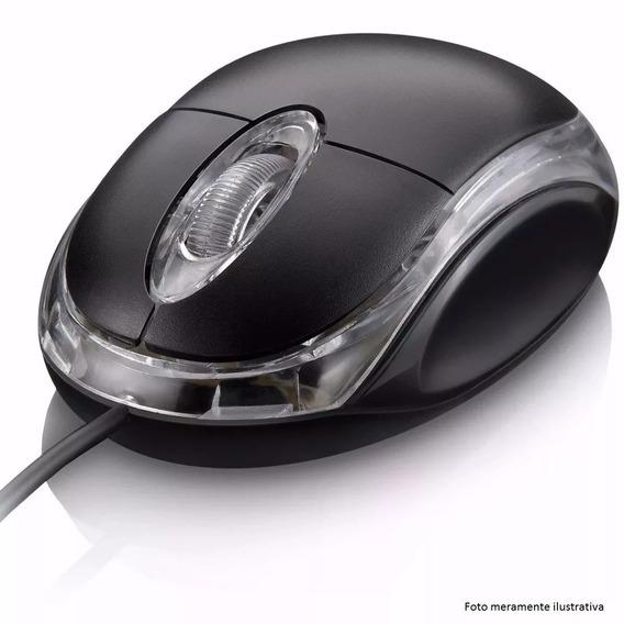 Mouse Usb Óptico Ergonômico 1000 Dpi 1,2mts Fy M-201