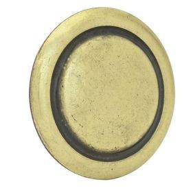 Botón O Perilla Clásico Tipo 03 Latón Antiguo Lock