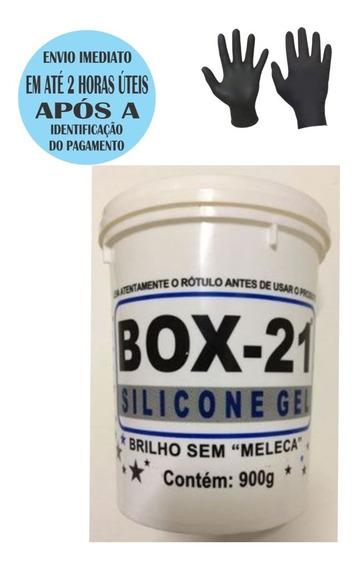 Silicone Gel Box 21 Sem Meleca 900 Gr + Brinde