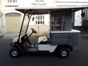 Carrito De Golf Tipo Snak-bar-comida A Gasolina