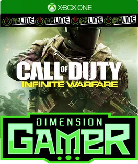 Call Of Duty Infinite Warfare Xbox One No Codigo Off-line