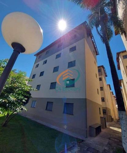 Imagem 1 de 24 de Apartamento Com 2 Dormitórios Para Alugar, 50 M² Por R$ 962,00/mês - Jardim Santo Expedito - Guarulhos/sp - Ap4451