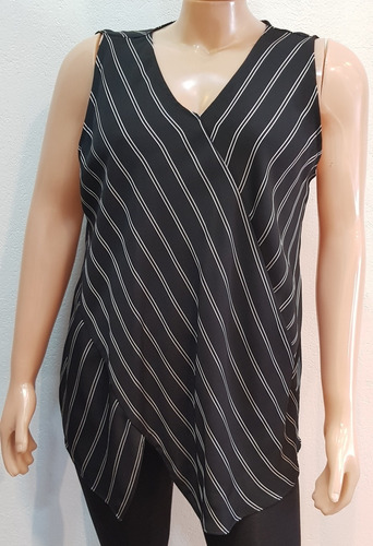 Musculosa Calvin Klein Rayada Original Importado