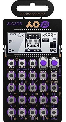 Imagen 1 de 7 de Sintetizador Arcade De Operador De Bolsillo Po-20 De Adolesc