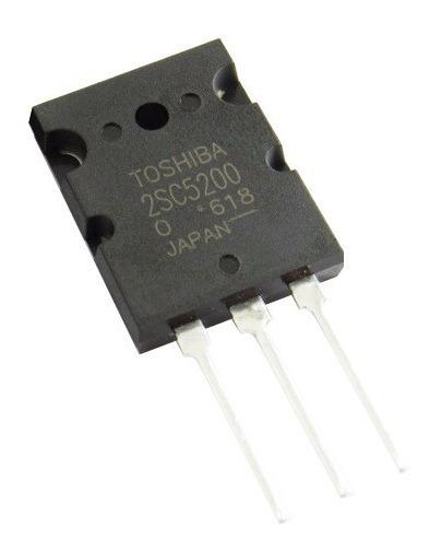 2sc5200 150w 230v Npn Triple Diffused Marca Toshiba Original