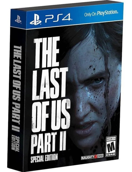 Jogo The Last Of Us - Parte 2 Steelbook (lacrado) Ps4