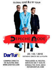 Combis Al Recital Depeche Mode En Estadio Unico La Plata