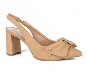 6ce37b3e9 Sapato Modelo Chanel Nude Sutilmente Dakota - Sapatos com o Melhores ...
