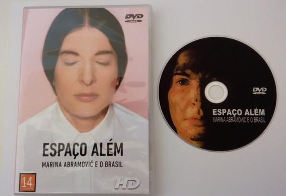 Dvd - Espaço Além - Marina Abramovic E O Brasil.