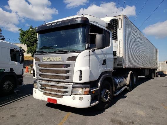 Scania G 124 420 6x2 Ano 2010/2010 Impecável