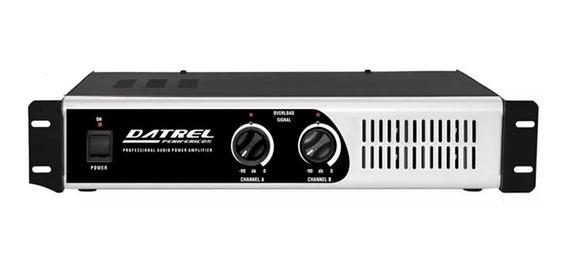 Amplificador De Potencia Pa8000 Datrel Profissional 800 W