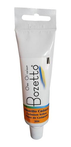 Oleo Bozetto 50 Ml  Amarillo Cadmio