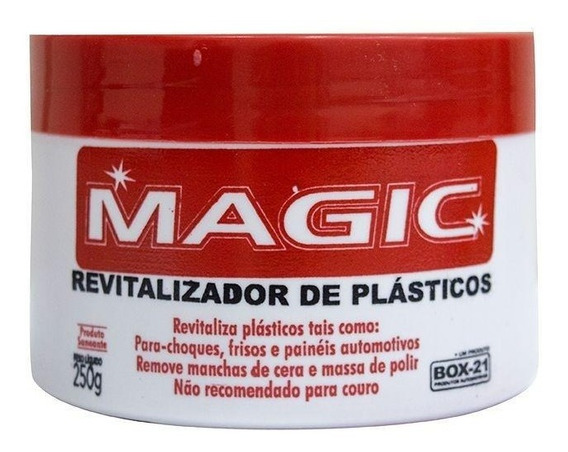Revitalizador Plastico Magic Box 21 (carnauba) - 250gr