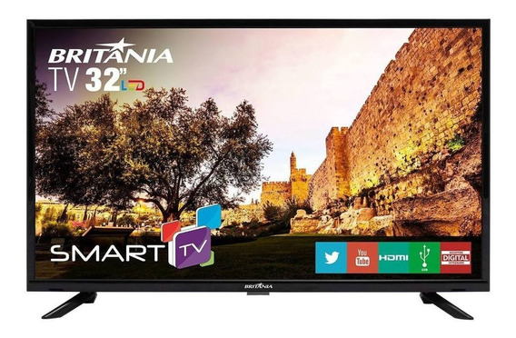 "Smart TV Britânia HD 32"" BTV32G51SN"