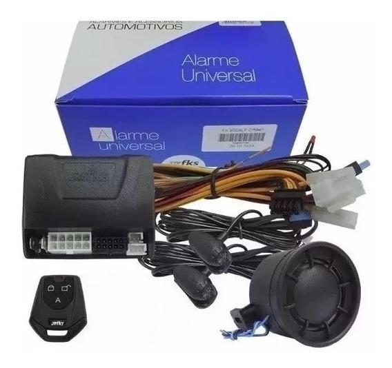 Alarme Automotivo Fks Universal Fk902 Sb Plus Completo 1 Con