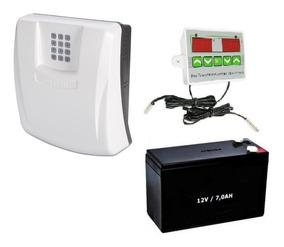 Alarme Gsm C/ Aviso Falta De Energia + Controle Temperatura