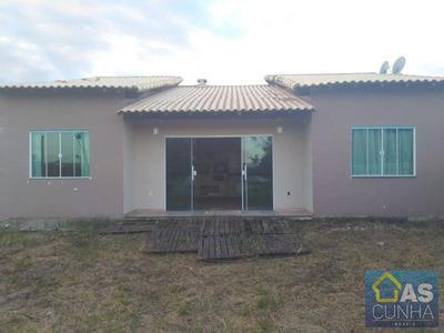 Casa Para Locação Em Araruama, Fazendinha, 2 Dormitórios, 1 Banheiro - 0229