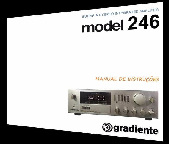 Manual Do Amplificador Gradiente Model 246 (cópia Colorida)
