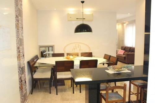 Imagem 1 de 24 de Casa  Com 3 Dormitório(s) Localizado(a) No Bairro Marapé Em Santos / Santos  - 5874