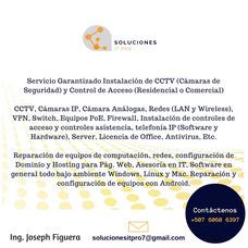 Instalación De Cámaras, Cctv, Pc, Servidores, Software Y Mas