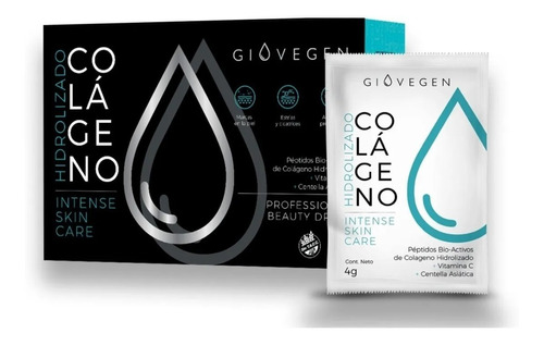 Imagen 1 de 6 de Giovegen Intense Skin Care - Colágeno Bio Activo - Celulitis