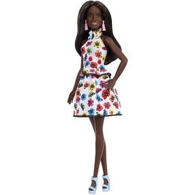 Barbie Fashionistas 106 - Negra Fxl46 Original Mattel