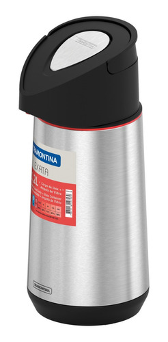 Garrafa Térmica 1,2l Aço Inox Exata C/ Ampola Tramontina