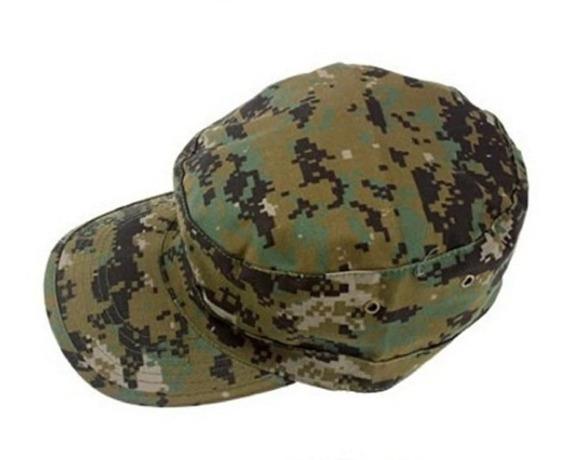 Boné Quepe Boina Camuflado Padrão Militar Airsoft Paintball