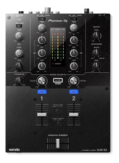 Mixer Djm S3 Pioneer Dj Serato + Nf + 1 Ano Garantia