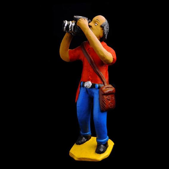 O Fotógrafo - Obra Do Artista Popular Mestre Luiz Antônio