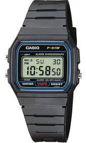 Kit 3 Relógio Masculino Casio Digital Esportivo F-91w