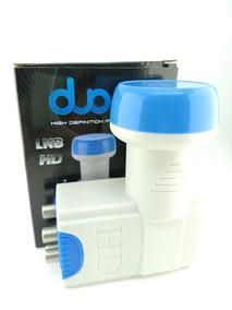 2x Lnb 4 Saidas Full Hd 4k Original 0.60db A Prova D Agua