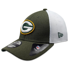 Gorra New Era 39 Thirty Nfl Packers Heather Front Neo Verde