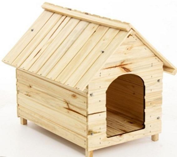 Casa Casinha Cachorro E Gato Madeira N. 03